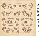 old ribbon banner   for... | Shutterstock .eps vector #549491194