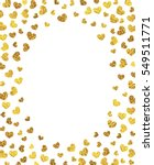 vector background with gold... | Shutterstock .eps vector #549511771