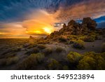 beautiful rock formations at... | Shutterstock . vector #549523894