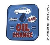 oil vehicle car transportation... | Shutterstock . vector #549524917