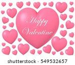 valentine's day celebration... | Shutterstock . vector #549532657