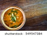 tom yum goong in a bowl | Shutterstock . vector #549547384