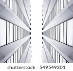 symmetrical minimal architecture | Shutterstock . vector #549549301