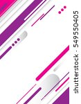 an abstract pink  purple and... | Shutterstock .eps vector #549550405