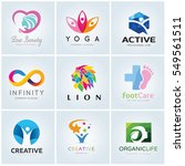 logo template  collection | Shutterstock .eps vector #549561511