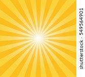 Sunburst Background Vector.