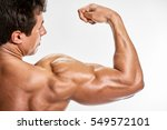 Small photo of man Strong arm