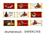 chocolate bar with nuts isolated