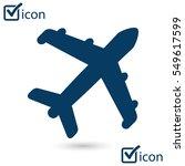 plane icon. travel symbol....