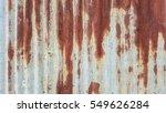 old zinc rust oxides background | Shutterstock . vector #549626284