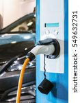 charging station for electric... | Shutterstock . vector #549632731