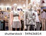 fashion cloth store. | Shutterstock . vector #549636814