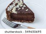 Chocolate Raw Vegan Cake With...