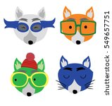 cute fox | Shutterstock .eps vector #549657751
