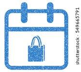 shopping day grainy textured... | Shutterstock .eps vector #549665791