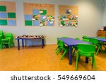 interior classroom in the... | Shutterstock . vector #549669604