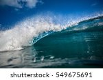 front view of incoming big... | Shutterstock . vector #549675691