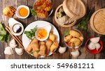 asian cuisine | Shutterstock . vector #549681211