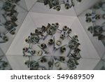 abstract background  bolts and... | Shutterstock . vector #549689509