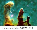 The Eagle Nebulaas Pillars Of...
