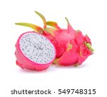 Dragon Fruit With Drops Of...