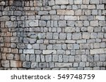 Stones Wall Of Old City In...