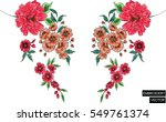 embroidery design | Shutterstock .eps vector #549761374