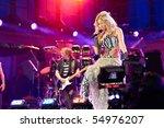soweto   june 10  singer and...   Shutterstock . vector #54976207