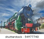 The Old Steam Locomotive In...