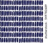 hand drawn striped seamless... | Shutterstock .eps vector #549782689