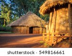 Traditional  Tribal Hut Of...