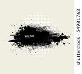 grunge banner. vector. | Shutterstock .eps vector #54981763
