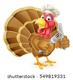 cartoon thanksgiving or... | Shutterstock . vector #549819331