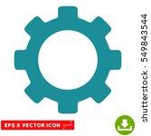 gear eps vector pictograph.... | Shutterstock .eps vector #549843544