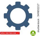 gear eps vector pictogram.... | Shutterstock .eps vector #549852217