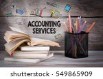 accounting services  business... | Shutterstock . vector #549865909