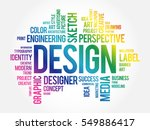 design word cloud collage ... | Shutterstock .eps vector #549886417