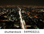 aerial view of mexico city ... | Shutterstock . vector #549903211