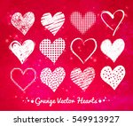 vector collections of white... | Shutterstock .eps vector #549913927