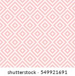 abstract ethnic pattern... | Shutterstock .eps vector #549921691