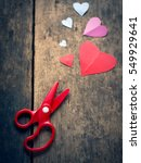 Valentine Heart Paper And...