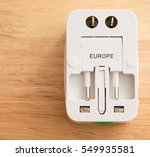 power adapters for worldwide use | Shutterstock . vector #549935581
