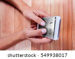 telephone with apps icon... | Shutterstock . vector #549938017