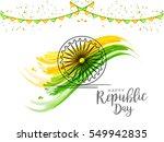 illustration of happy indian... | Shutterstock .eps vector #549942835