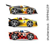 car set. | Shutterstock .eps vector #549946159