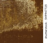 old grungy texture. golden... | Shutterstock . vector #549947725
