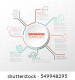 vector infographic report... | Shutterstock .eps vector #549948295
