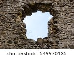 Old Ruined Stony Building Of...