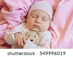 sweet little newborn baby... | Shutterstock . vector #549996019