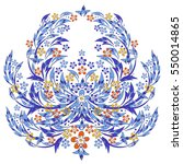vector baroque style design...   Shutterstock .eps vector #550014865